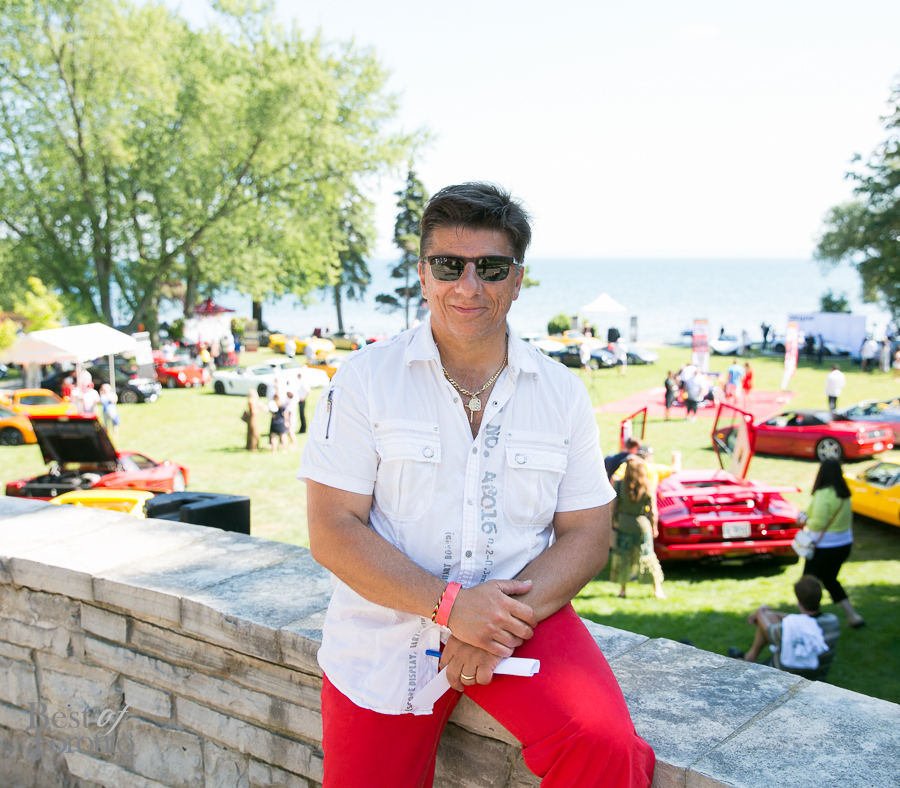 Felice Cappellano, Marques d'Elegance, President | Photo: James Shay