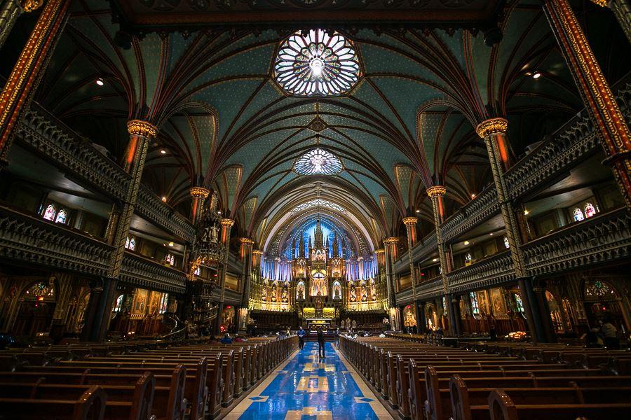 Basilique Notre-Dame de Montréal in 2013 | Photo: Nick Lee