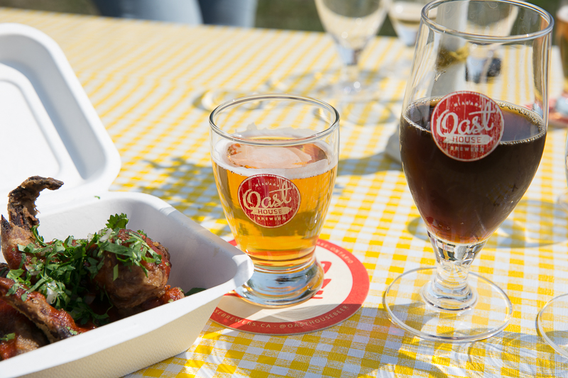 A flavourful serving of Korean BBQ Chicken Wings with a choice of pairings from Oast House