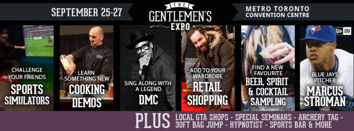 Win VIP tickets to the Gentlemen's Expo!