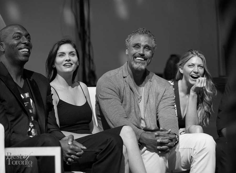 John Salley, Jodi Lyn O'Keefe, Rick Fox, Jes Macallan
