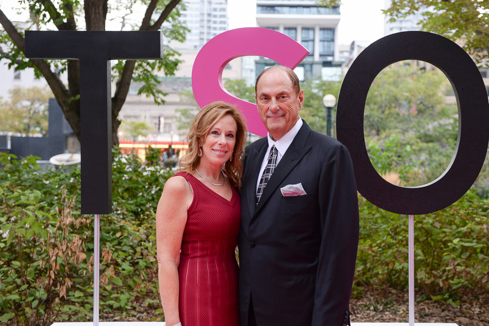Sandi Treliving and Jim Treliving (Dragon's Den) | Photo courtesy of TSO