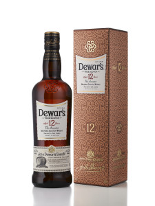 Dewars 12 Bottle and Box