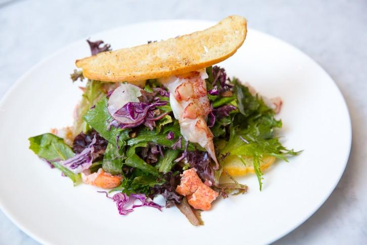 Lobster Salad at Lbs Restaurant