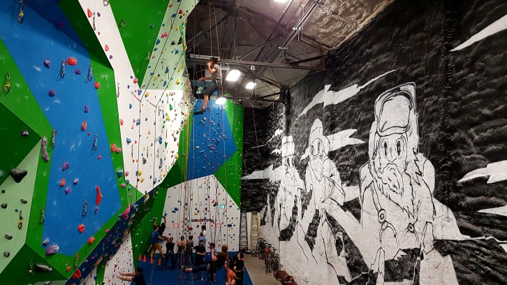 Basecamp indoor rock climbing gym