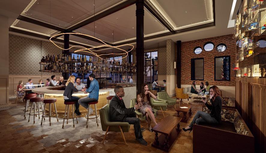 The Broadview Hotel's Lobby Café+ Bar