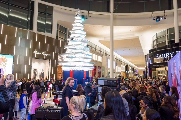 Finest fashions launch qvbs swarovski christmas tree