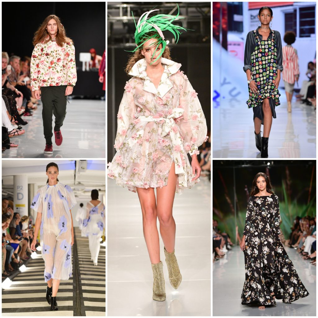 Floral Fantasies (left to right: Hendrixroe, Narces, Alex S Yu, Sid Neigum, Mani Jassal)
