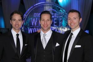 The Etherington brothers Photo: Dr John