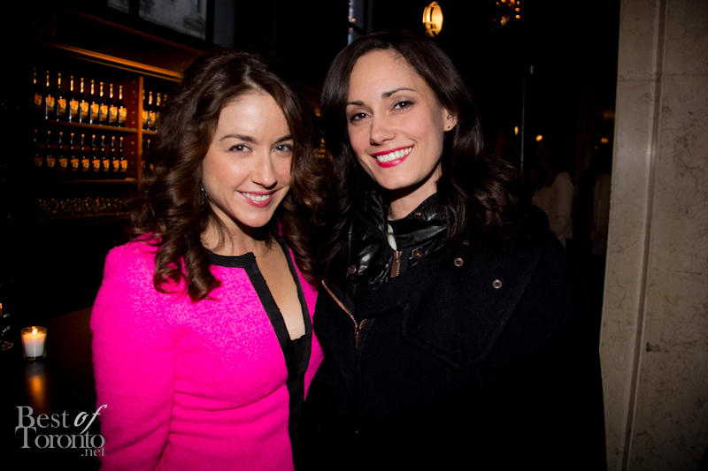 Erin Karpluk (CBC's Being Erica), Natalie Brown (Being Human / Cracked)