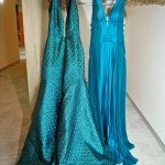 Mendel gowns in emerald green from The Room (photo: Ryan Emberley)