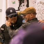Norman Reedus, Michael Rooker from the AMC's Walking Dead