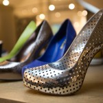 Perforated, metallic pumps