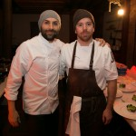 left: Chef Rob Gentile (Buca)