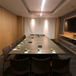 One of the meeting rooms
