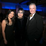 Melanie Ng (City), Chef Alvin Leung, Roger Petersen (City)