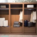 A jet setter's closet