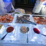 Seafood ice bar