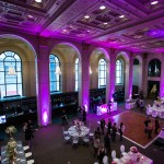 Overlooking the Grand Banking Hall at One King West