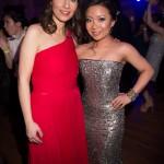 Vicky Milner, Deborah Lau-Yu (wearing Romona Keveza)