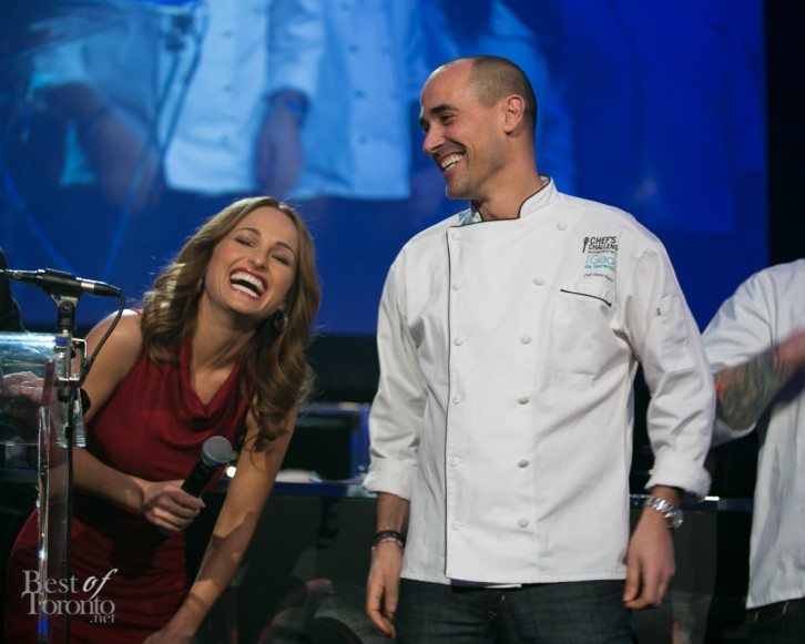 "Italians living ""La Dolce Vita"": Giada de Laurentiis and David Rocco"
