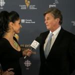 Veronia Chail interviewing Gord Martineau