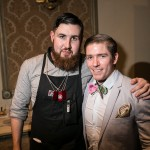 Casey Ryan (Marben), Simon Hooper (Disaronno Mixing Star Toronto winner)