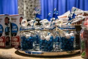Baseball-themed treats to end the night