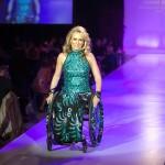 Joanne Smith (Gemini award-winning Broadcaster and model) wearing IZ by Izzy Camilleri Adaptive Clothing