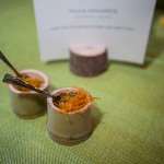 Silken Tofu with smoked pickerel and sweet potato by Paula Navarette for Momofuku Daisho