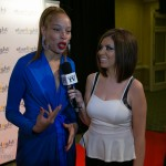 Stacey McKenzie speaking with Carla Hernandez