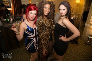 Members from the Spice Girls Tribute Band, Wannabe