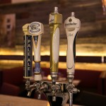 Draught beer selection includes two types of Krombacher, Creemore Springs and Granville Island Pale Ale