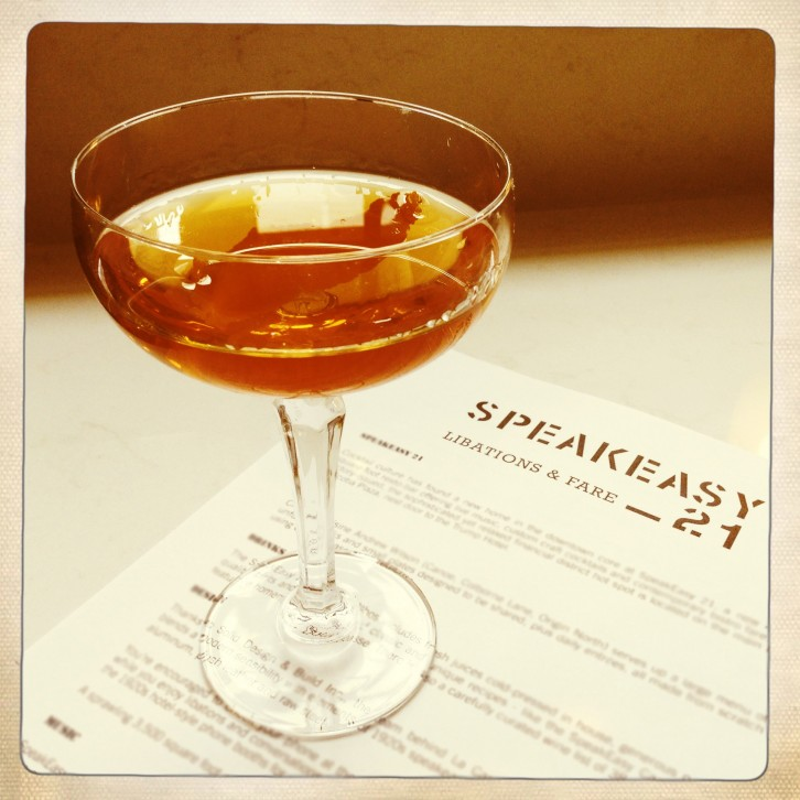 The Adelaide – Rye whiskey cocktail | Photo: Nellie Chen