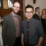 R: Global Television's Liem Vu and emcee for the evening