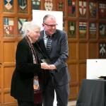 L: Patricia Nell-Warren, a 2014 Bonham Centre Award recipient