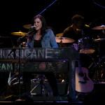 Alyssa Reid on on the keyboard