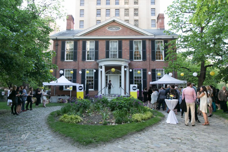 The Summerworks 2014 launch party at the Campbell House