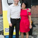 Michael Rubenfeld (Summerworks Artistic Producer), Olivia Chow (MP)