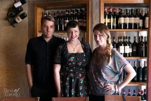 Christian Dare, Gail McInnes, Sabrina Maddeaux