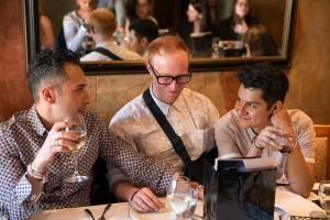 Tarek Al-azbat, Marc Piercey, Richard Fabregui