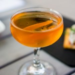Cascabel - Flor de Cana 5 year, Calvados, Yellow Chartreuse, Pechaud's Bitters
