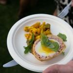 The Grove - Dutch scotch egg with English accompaniments | Photo: Nick Lee
