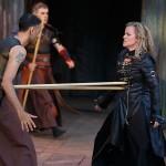 Omar Alex Khan and Shauna Black (Tamora) in Titus Andronicus | Photo: David Hou