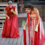 Chala Hunter as Lavinia in Titus Andronicus | Photo: David Hou