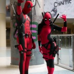 A pair of Deadpools