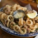 """""""CALAMARI FRITTI"""" - fried calamari, fennel and garlic crema"""