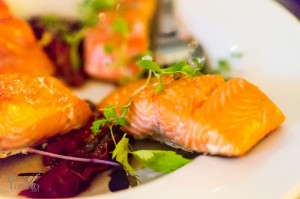 Pan-seared sockeye salmon | Photo: John Tan