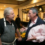 Chef John Waxman and Ivan Reitman