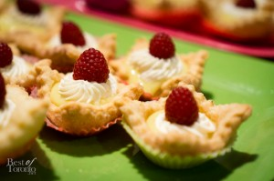 Lime curd tarts, Wanda's Pie in the Sky | Photo: John Tan